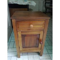 (only Wood) Criado Antigo Em Imbuia Maciça Restaurado