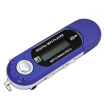 Mp3 Player 2gb Usb Radio Fm + Gravador + Pendrive