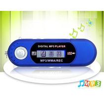 Mp3 Player 4gb Usb Radio Fm + Gravador + Pendrive