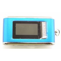 Mp3 Sony Chaveiro 2gb Azul Pequeno Fm Facil Manuseio A7040