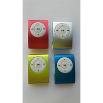 Mp3 Player Shuffle Clip + Cabo Usb + Fones De Ouvidos
