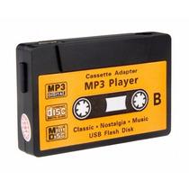 Mini Mp3 Player Vintage Tape Cassete K7 Preto - Frete R$6,00