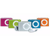 Mini Mp3 Player+fm Shuflle Clip Entrada Cartão Memoria