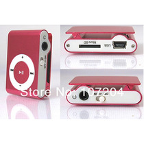 Mp3 Player Shuffe Slim Clip Alumínio Metal Portátil Mini