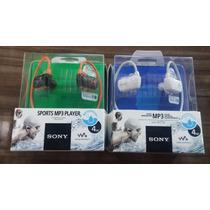 Sony Nwz W273 S Walkman Sports Mp3 Player A Prova De Água