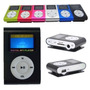 Mini Mp3 Player + Cabo Usb + Fm Shuffle Clip Display + Fone