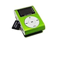 Mp3 Player Fm Mini Leitor Sd Cartão Memoria Shuffle Fone Lcd