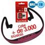 Fone De Ouvido S/fio Sport Mp3 + Rádio Fm + Cartão 8 Gb !!!!