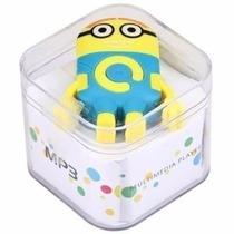 Mp3 Player Compacto Radio Fm Minion Meu Malvado Favorito