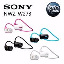 Sony Nwz-w273s 4gb Walkman Mp3 Prova De Água
