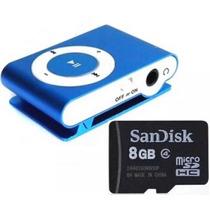 Mp3 Player De Música Com Cão De Memória De 8gb(2gb,4gb.)