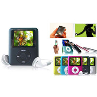 Mp4 / Mp3 Player Fm 2gb Auto Falante Externo Usb Pendrive
