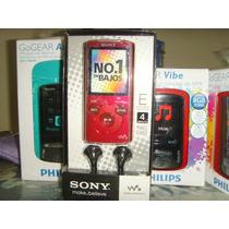 Mp4 Player Sony Walkman Nwz-e383r 4gb Lcd 1.77 Rádio Fm