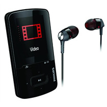 Mp4 Philips Gogear Sa4vbe08 - 8gb Com Fone Intra Auricular
