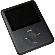 Mp4 Player Mp3 Fm Video Gravador De Voz Lcd Micro Sd