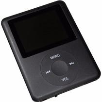 Mp4 Player Mp3 Fm Video Gravador De Voz Lcd - Micro Sd