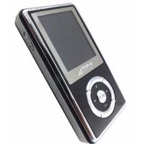 Mp4 Digital Player 2 Gb Preto E Prata Bateria Externa A7023