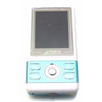 Mp4 2g Marca Digital Player Em Azul Com Branco A7009