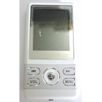 Mp4 Mp3 2g Fm Marca Digital Player Cinza Com Branco Nfe