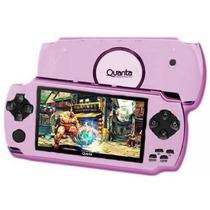 Mp5 Player Quanta Psp-300 4gb Game Mp3 Sd Rosa 0