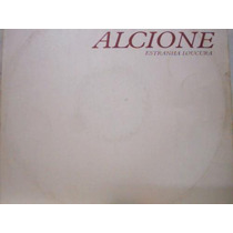 Alcione Estranha Loucura Lp Vinil Disco Single Mix Rca 1988