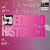 Lp Vinil - Os Festivais Da Record - Vol. 1