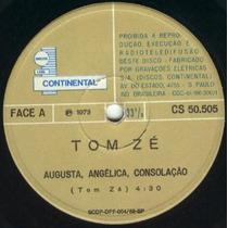 Compacto Tom Zé - Quem Não Pode Se Tschaikovsky - 1973