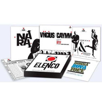 Lp - Vinil - Box Set - Caixa Elenco - Vinicius, Nara, Caymmi
