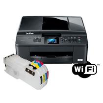 Multifuncional Brother Mfc-j430w Bulk-ink / Com Tinta