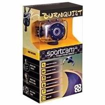 Câmera Sportcam Hd Burnquist Multilaser Dc180 Cinza 14mp