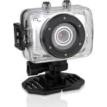 Camera Filmadora Hd Prova D Agua Sportcam Multilaser