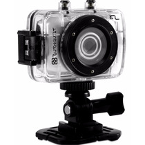 Câmera Filmadora Hd Dc180 Multilaser Sportcam Burnquist 14mp