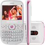 Celular Multilaser Star P3166 Tv Quadri Chip Branco C/ Rosa