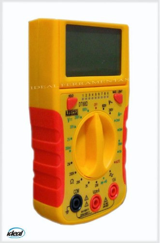 Multímetro Digital Com Teste De Rede - Rj 11 E Rj45
