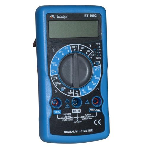 Multímetro Digital Portátil Et-1002 Profissional Minipa