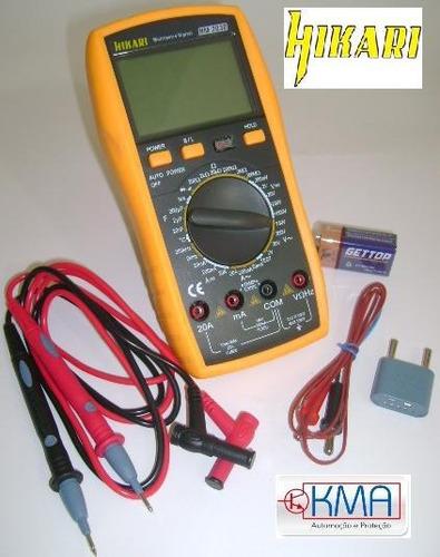 Multímetro Digital Profissional Hikari Hm-2030 - Display Lcd