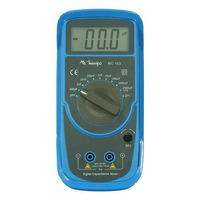 Capacímetro Digital Display Lcd 3 Digito Nr-10 Minipa Mc-153
