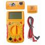 Multímetro Digital Com Teste De Rede Rj45 Rj11 Bip