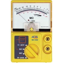 Megômetro Analógico Icel Sk-1000 Garantia E Nota Fiscal
