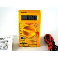 Multimetro Digital Multifunções Dt830b Multitoc Proteção