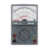 Multimetro Analogico Profissional Icel Ma-60