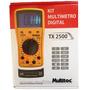 Multimetro Digital Profissional Testa Cabos Usb Rede Rj45 11