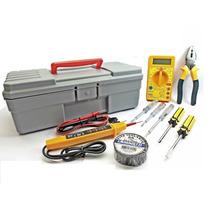 Kit Eletricista- Multímetro Mais Diversos- Total 6 Elementos
