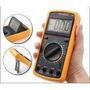 Multímetro Yaxun Com Capacímetro Digital Dt9205a+