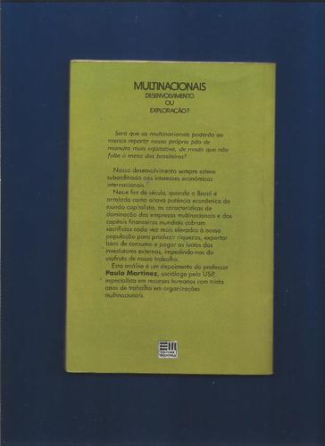 Multinacionais Desenvolvimento Ou Exploração- Paulo Martinez