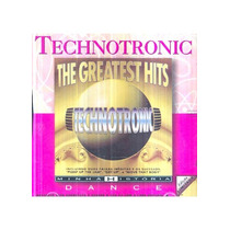Cd-technotronic-the Greatest Hits-minha Historia