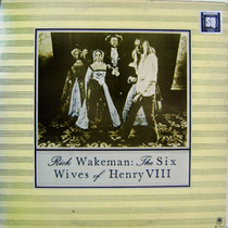 Vinil/lp - Rick Wakeman - The Six Wives Of Henry Viii