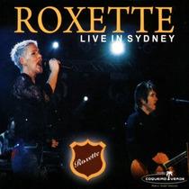 Roxette - Live In Sydney-cd Raro Novo Original Lacrado Veja