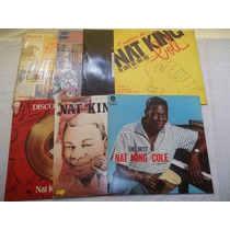 Lote Lp Vinil - Nat King Cole - Lote 7 Discos