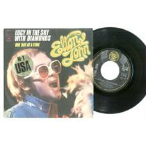Elton John - Lucy In The Sky- Djm 17644 - França
